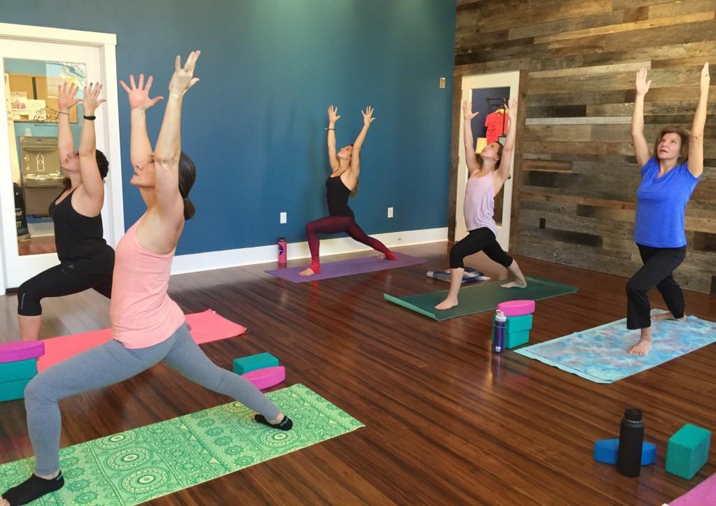 Inspired Change Yoga Studio - WarriorOne